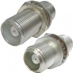 H3056-95 HN In Series Adapter, Female to Female Bulkhead
