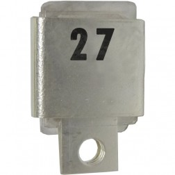 J101-27 Metal Cased Mica Capacitor, 27pf