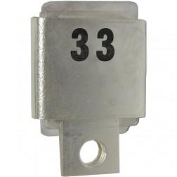 J101-33  Metal Cased Mica Capacitor, 33pf