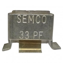 J101-33-C  Metal Cased Mica Capacitor, 33pf