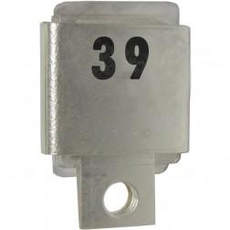 J101-39  Metal Cased Mica Capacitor, 39pf