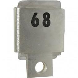 J101-68 Metal Cased Mica Capacitor, 68pf