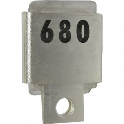 J101-680  Metal Cased Mica Capacitor, 680pf