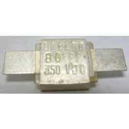 J101-80-D  Metal Cased Mica Capacitor, 80pf