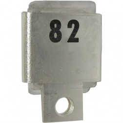 J101-82  Metal Cased Mica Capacitor, 82pf