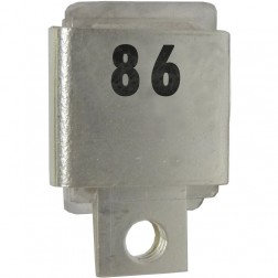 J101-86  Metal Cased Mica Capacitor, 86pf