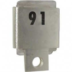 J101-91  Metal Cased Mica Capacitor, 91pf