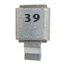 J602-39 Metal Cased Mica Capacitor 39pf
