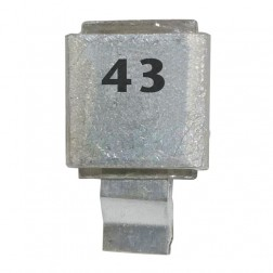 J602-43 Metal Cased Mica Capacitor 43pf