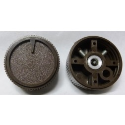 KNOB14  Tuning Knob with Pointer, Brown
