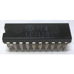 LC7120  PLL/AUDIO IC