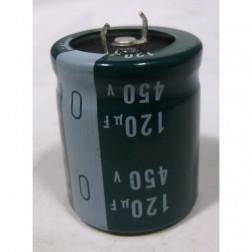 LGU2W121MHLA  Capacitor, 120 uf 450v, Nich