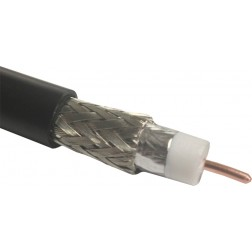 LMR400-75 Indoor/Outdoor Flexible Low Loss 75Ohm Coaxial Cable