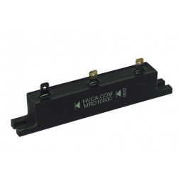 MRD10000 HIGH VOLTAGE RECTIFIER BLOCK WITH MOUNTING SLOTS, 0.8amp, 26kv-piv, Formerly 18050