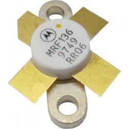 MRF136-MOT Transistor, Motorola, 15 watt, 28v, 400 MHz
