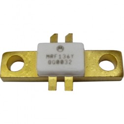MRF136Y-MOT Transistor, Motorola, 30 watt, 28v, 400 MHz