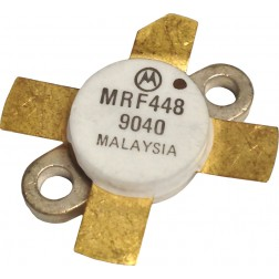 MRF448-MOT NPN Silicon Power Transistor, 250 W, 30 MHz, 50 V, Motorola
