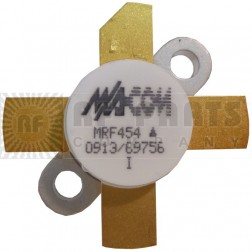 MRF454MP-MA Silicon Power Transistor, Matched Pair, 80W, 30MHz, 12.5V, M/A-COM