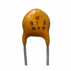 NPO-9.1 Disk Capacitor