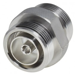 P2RFD1653-4 Adapter, Barrel, 7/16 DIN Female to Female, LOW PIM, RFI