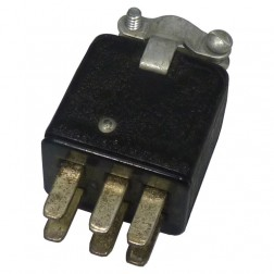 P306CCT  6 Pin Cinch Plug Connector (Jones)