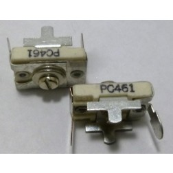 461-PC Trimmer Capacitor, Compression Mica, 2.7-40 pf pc mount