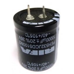 PEH532JCD5100MZ  Snap Lock Capacitor, 10000uf 35v, RIFA