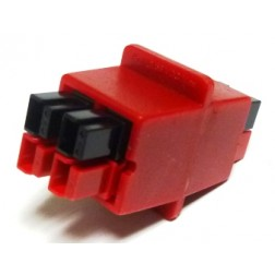 PS-4  -  Red-Dee-2 In Line 4-Way Powerpole Splitter