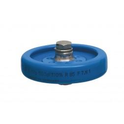 PS55-500 Doorknob Capacitor, 500pf 5kv, Draloric