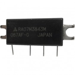 RA07M3843M RF Module, 378-430 MHz, 7 Watt, 7.2v