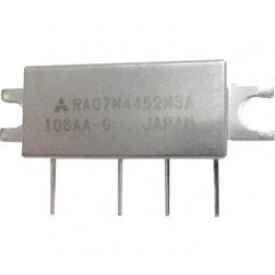 RA07M4452MSA RF Module, 440-520 MHz, 7 Watt, 7.2v, Metal Case