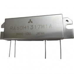 RA60H1317M1A  RF Module, 135-175 MHz, 60 Watt, 12.5v, Metal Case