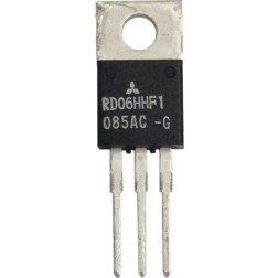 RD06HHF1 Transistor, 6 watt, 30 MHz, 12.5v, Mitsubishi