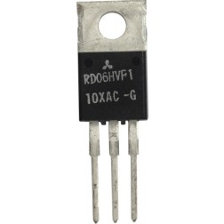 RD06HVF1 Transistor, 6 watt, 175 MHz, 12.5v, Mitsubishi