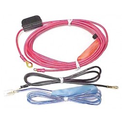 RD221 Amplifier Wire Kit, 12awg w/30 amp Fused Link