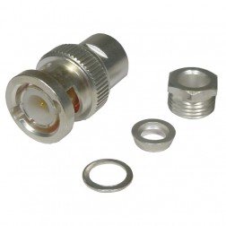 RFB1100-2ST Connector, BNC MaleClamp