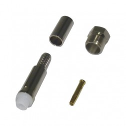 RFE6050-X FME Female Crimp Connector, LMR240, RFI