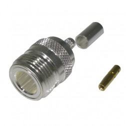RFN1027 Type-N Female Crimp Connector, RFI