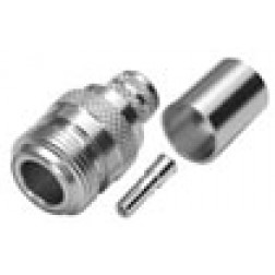 RFN1028-F Type-N Female Crimp Connector, RFI