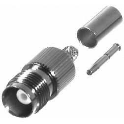 RFT1216-C2 TNC Female Crimp Connector, RFI