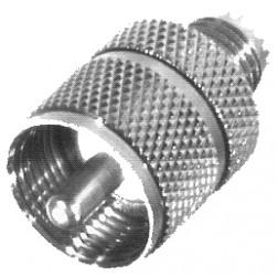 RFU626 Between Series Adapter, MIni-UHF Female to UHF Male(PL259), RFI