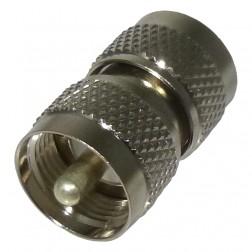 RFU538  IN Series Adapter, UHF Male to Male (PL259) Barrel, RFI