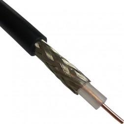 RG58U-BEL Coax Cable, Solid Center Conductor, Belden