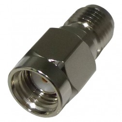 RP3405 Reverse Polarity Between Series Adapter, RP SMA Male to SMA Female, RFI