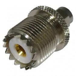 RSA3457 Between Series Adapter, SMA Male to UHF Female (SO239), Straight,  RFI