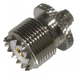 RSA3475 Between Series Adapter, SMA Female to UHF Female (SO239), Straight, RFI
