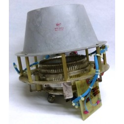 SK300A-COMBO  Tube Socket and Chimney Combonation, Removed from Equipment, for 4CX5000A