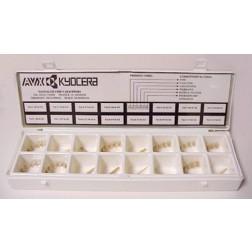 TANCHPKIT Tantalum chip capacitor kit, AVX/KYOCERA