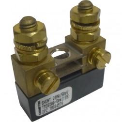 """TMSB200-50 Shunt, meter, 200 a, 50 mv, Compact 0.5""""x1.5""""x1.6"""""""