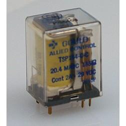 TSP154-C-C Relay, DPDT, Relay, dpdt, term Gould